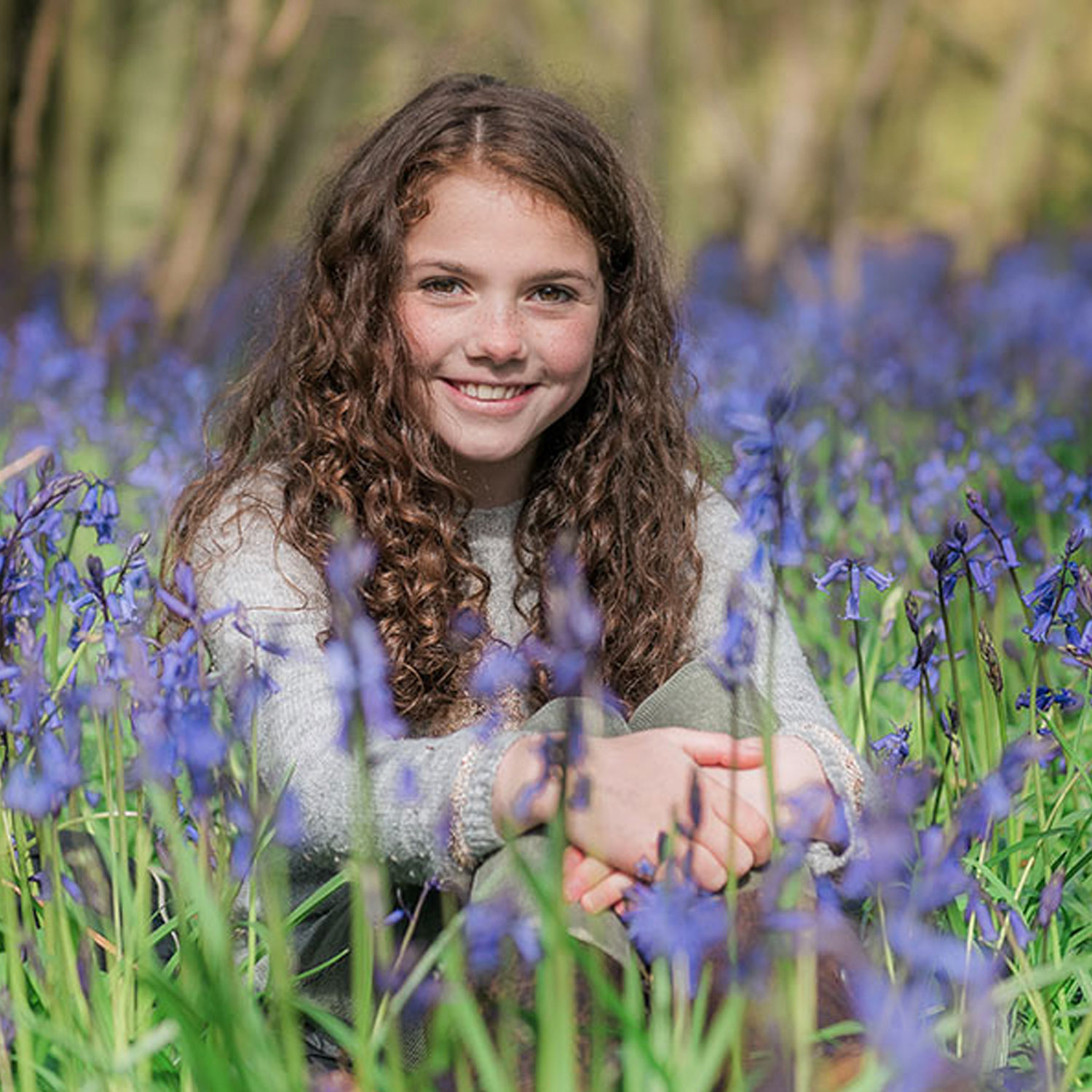 Bluebell Photo Shoots in Northampton
