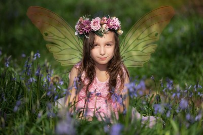 Bluebell Fairy photo shoot