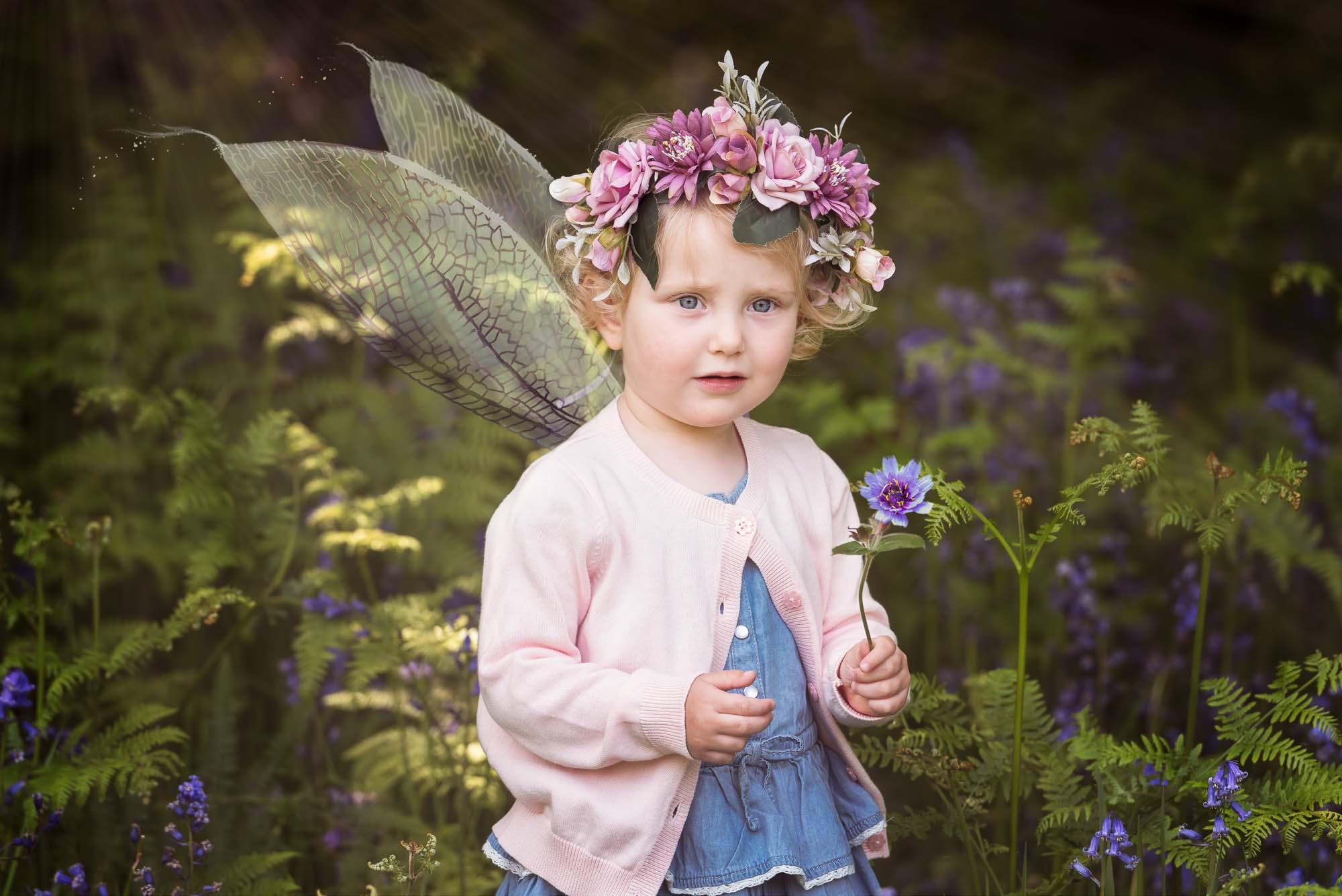 Outdoor Fairy Photography Northampton