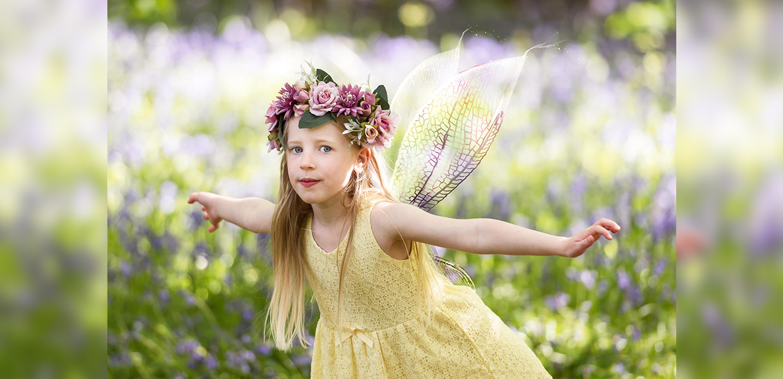 Outdoor Fairy Photo Shoot in Northampton