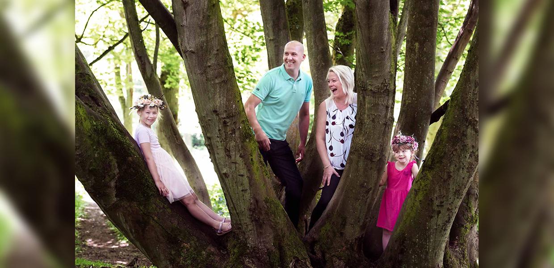 Fun Family Photographer in northampton