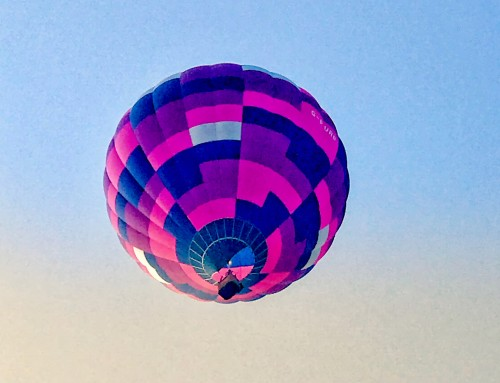 My Sunday Photo- Hot Air Balloon