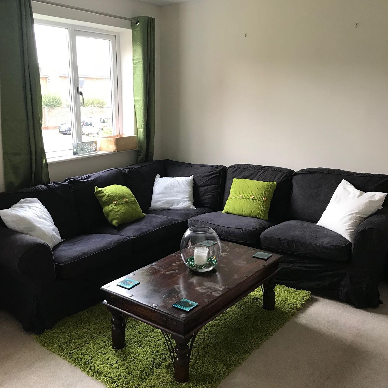 Redecorating, Green Living Room, Northampton Photographer