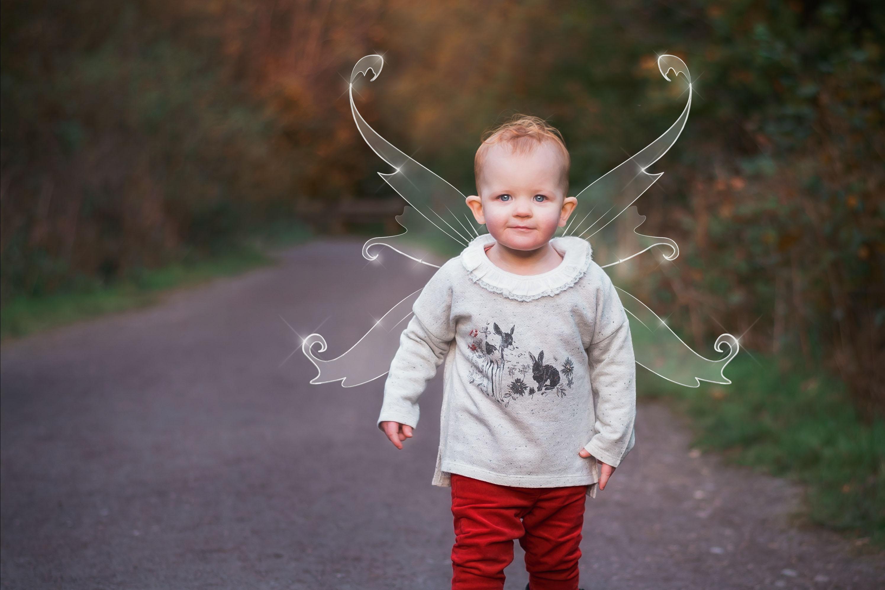 Autumn Fairy Photo Shoot