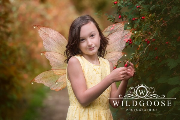 Autumn Fairy Photo Shoot