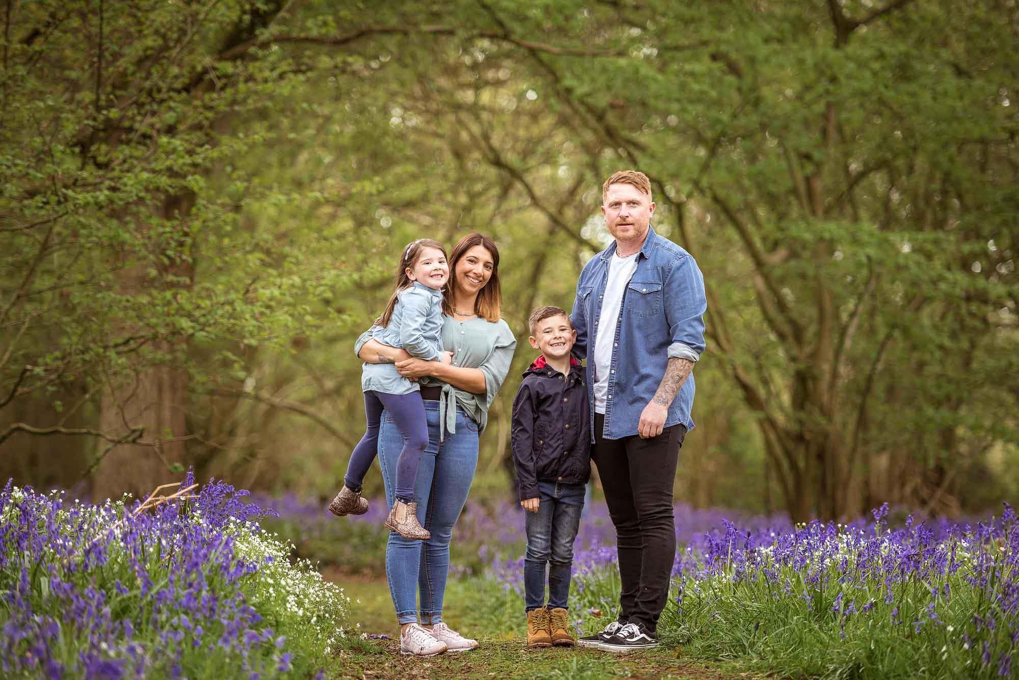 Family photo shoot northampton