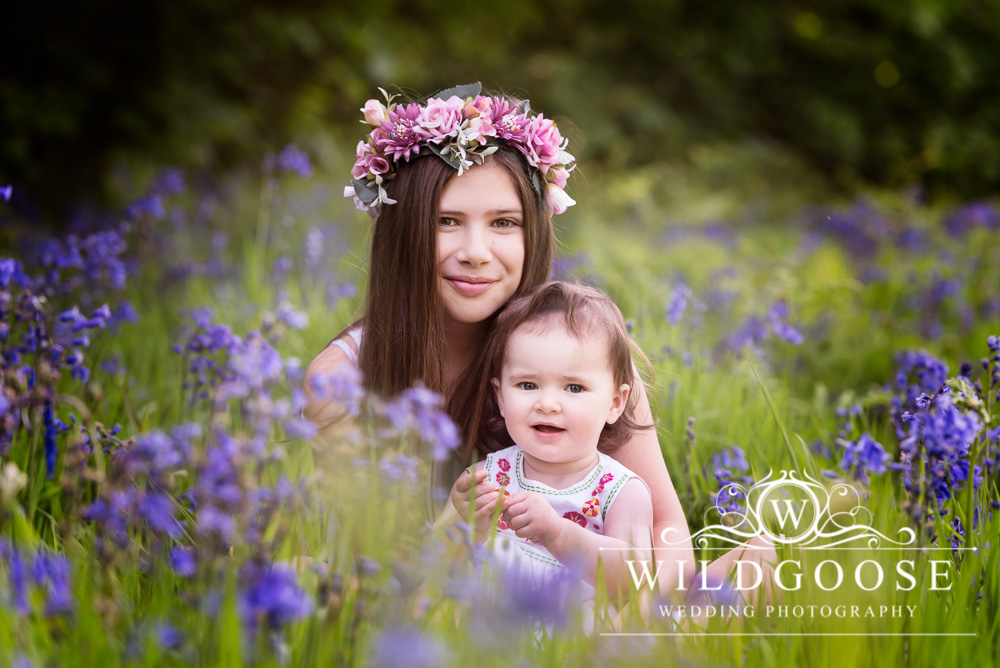 Bluebell Photoshoot in Northamptonshire