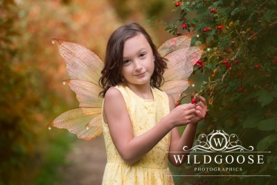Magical photo shoot with fairy dresses and props